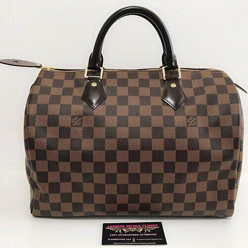 Excellent Condition Louis Vuitton Speedy 30 Ebene