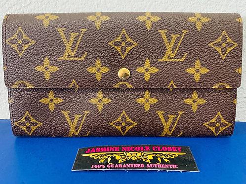 LV Sarah Long Wallet