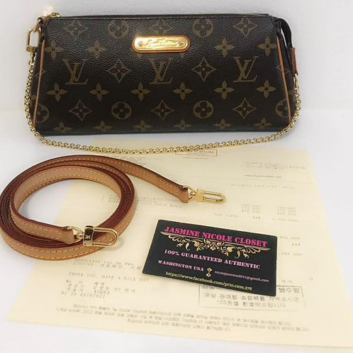 Pre Owned Rare LV Eva Bag Mono with LV long strap to wear cross body bag