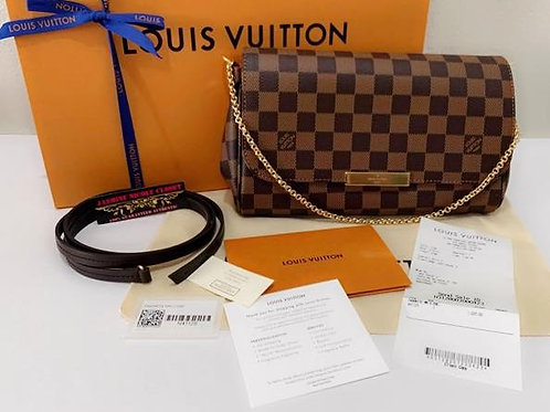 Brand New 2019 Authentic Rare hard to find LV Favorite MM Ebene