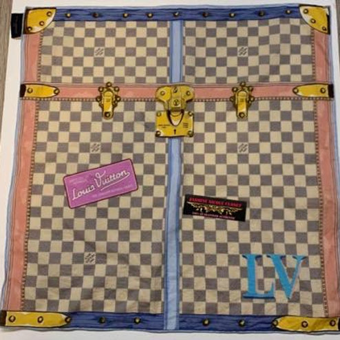 Pre Owned LV Azur 2018 Trunk Scarf
