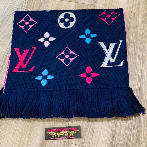 LV Logomania M70899 Scarf  Rainbow color