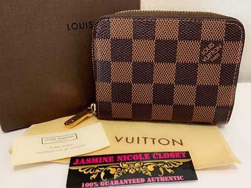 Excellent Condition Authentic LV Zippy Coin Wallet
