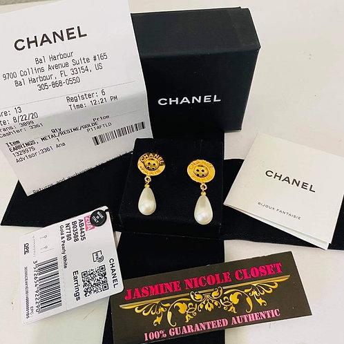 Brand New 20A Chanel Earrings