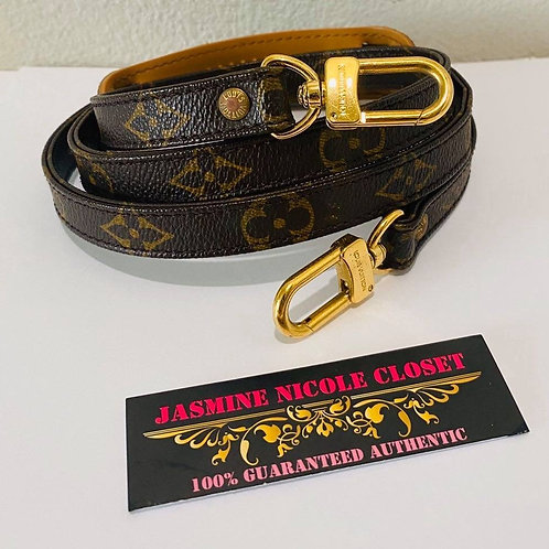 Authentic LV LONg Mono Strap 46 inches
