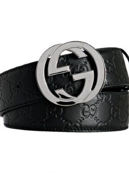 Brand New GUCCI Guccissima Black Belt