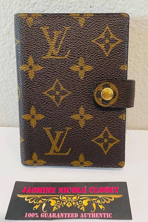 LV Diary Cover holder