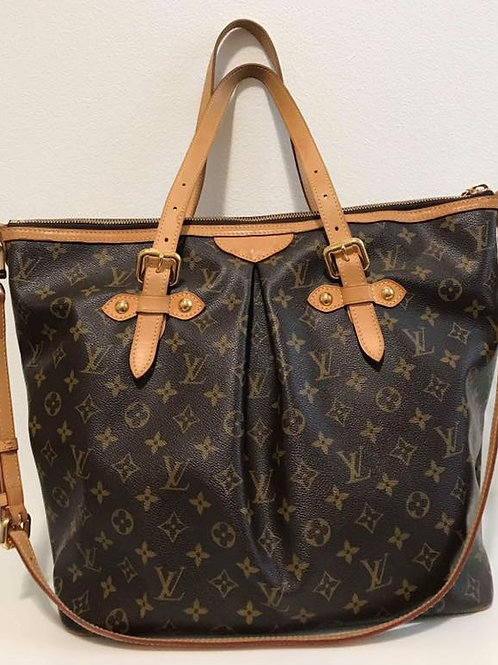 Pre Owned Rare hard to find Authentic LV Palermo GM size