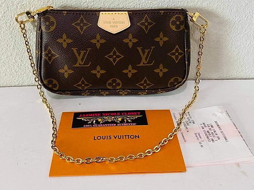 Brand new LV Multi Pochette Small