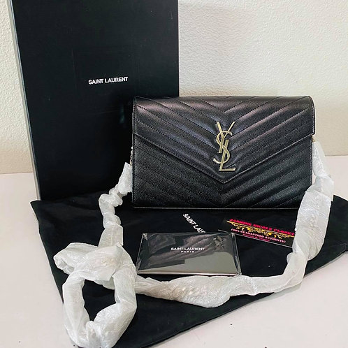 Brand New YSL WOC Crossbody Bag Balck