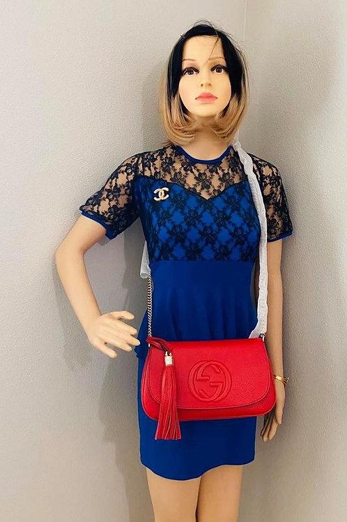 Brand New GUCCI Soho Cross Body Bag Red