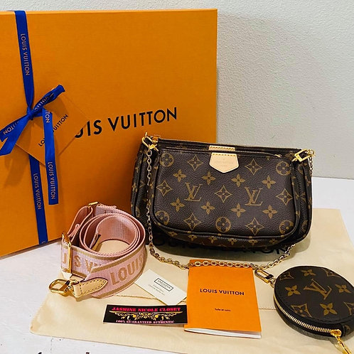 Brand New LV Multi Pochette