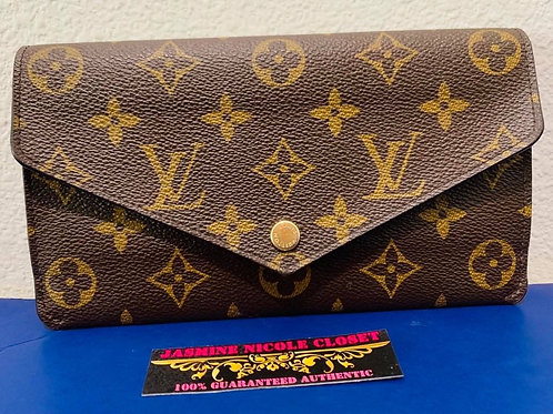 LV Jeanne Long Wallet Pink