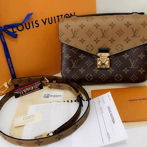 Brand New 2019 Authentic Rare hard to find LV POCHETTE METIS Reverse