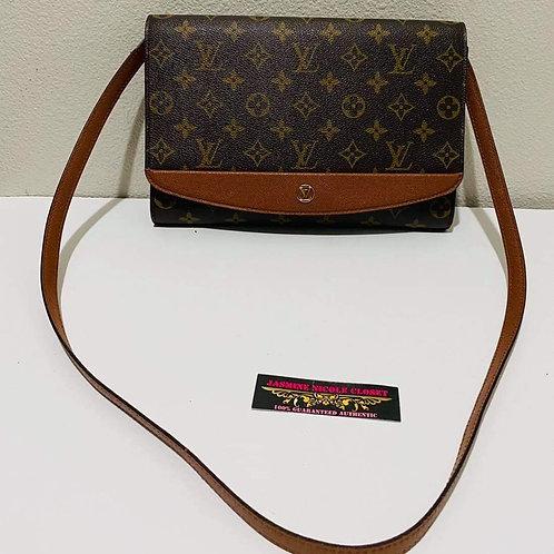 LV  Bordeaux Clutch /  Bag Mono