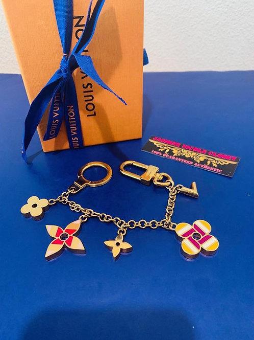 LV M68002 Pop Flower Key Chain Bag Charm Charm