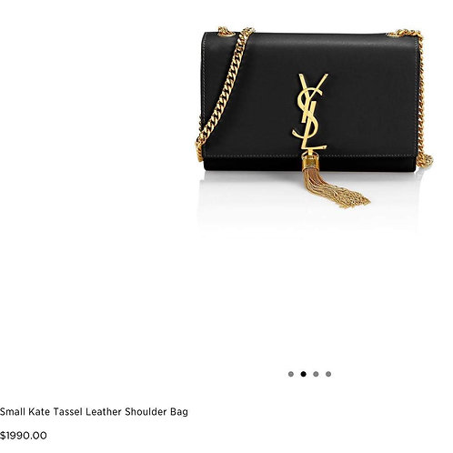 Brand New YSL Kate Tassel Small Crossbody Bag