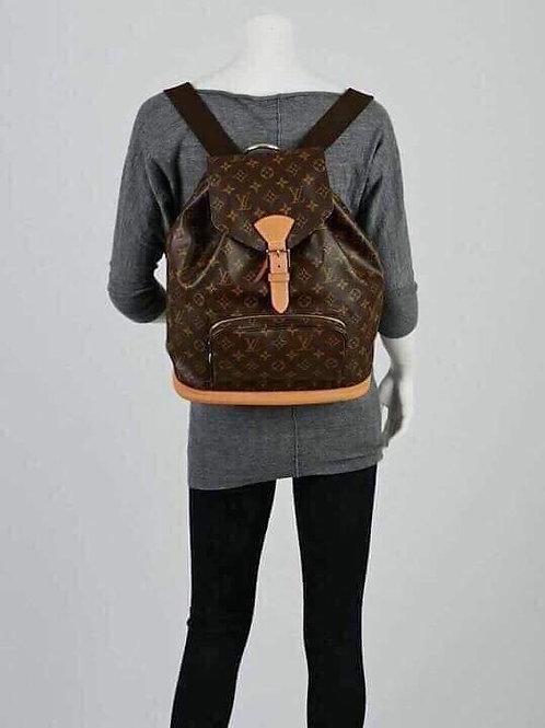 LV Montsouris GM Backpack Bag