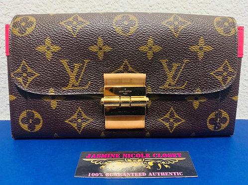 LV Elysee Wallet Pink