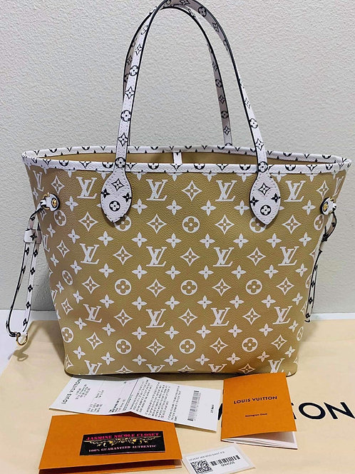 2019 Authentic LV Neverfull MM Giant!