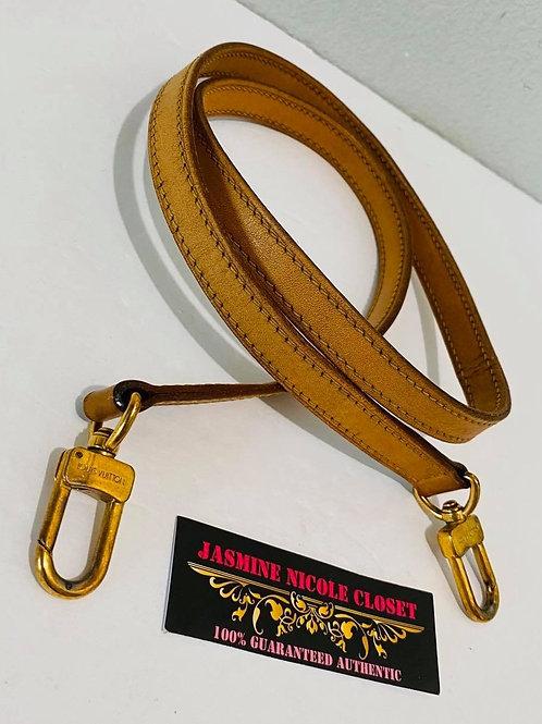 LV Vachetta Long Strap 39 inches