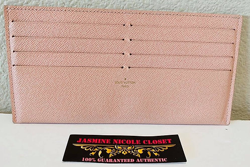 LV  Card Holder Pink