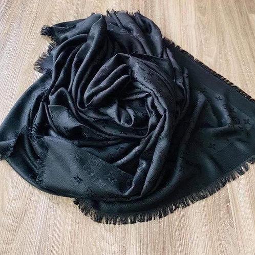 LV Black Shawl