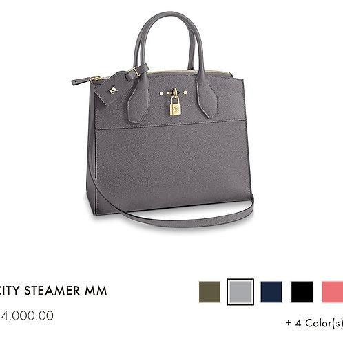 LV City Steamer MM Grey