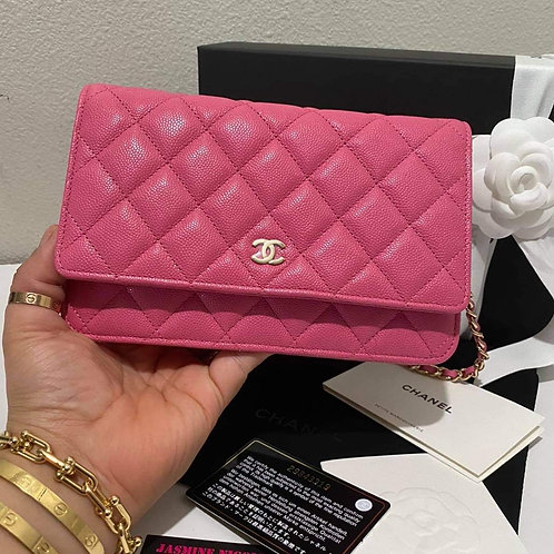 Brand New Chanel 20S WOC bag Pink