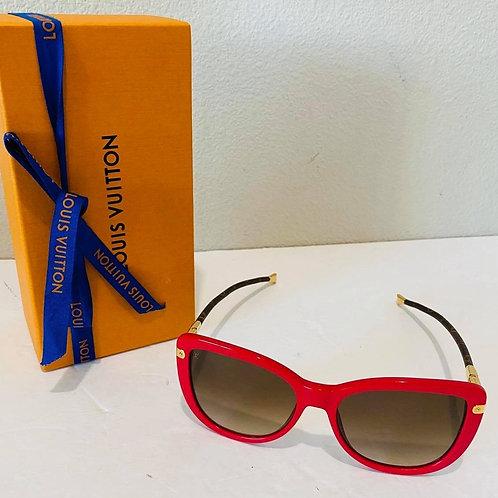 LV Charlotte Red Sunglasses