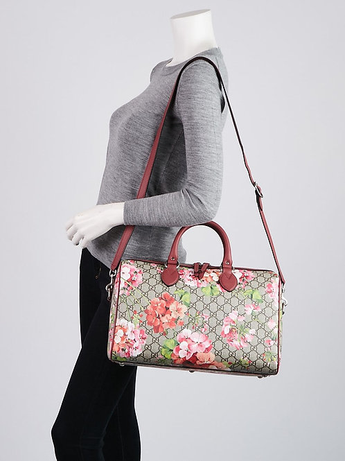 Gucci Blooms Boston Medium Bag