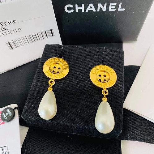Brand New 20A Chane Earrings