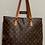 Thumbnail: LV Cabas Mezzo Shoulder Bag
