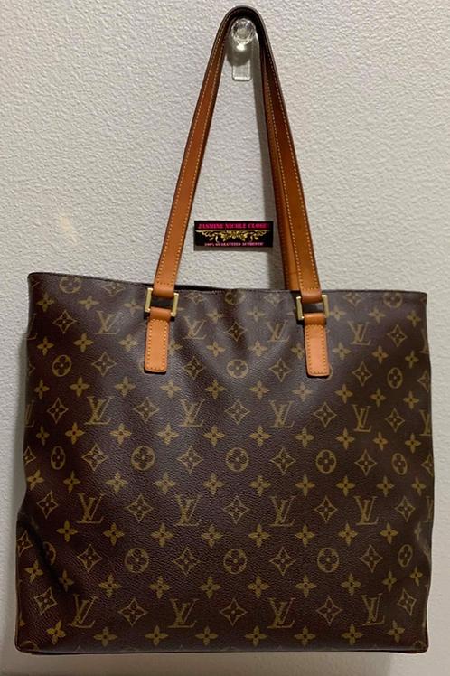 LV Cabas Mezzo Shoulder Bag