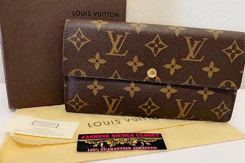 Excellent Condition Authentic LV Sarah Wallet