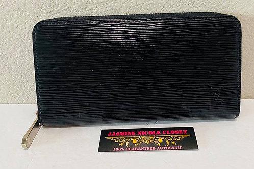 LV Zippy Epi Electric Noir  with dust bag