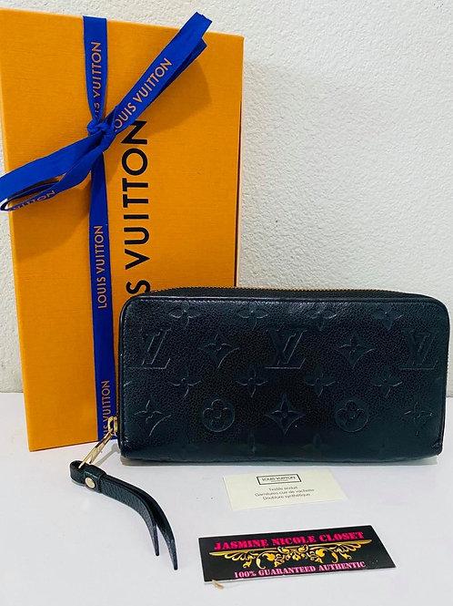 LV Empreinte Noir Zippy Wallet
