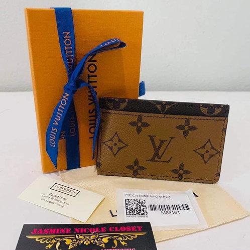 Brand New LV Card Holder Reverse