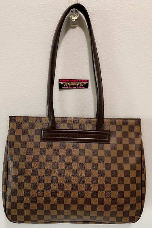 Pre Owned Rare Authentic LV Parioli PM Ebene Shoulder Bag