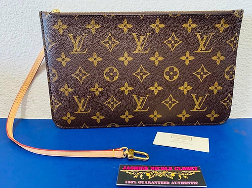 LV Neverfull Pouch MM / GM Mono