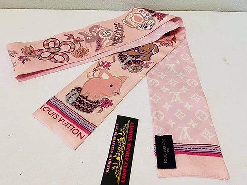 LV Bandeau Pink Pig