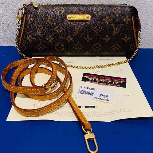 LV  Eva clutch crosbody bag