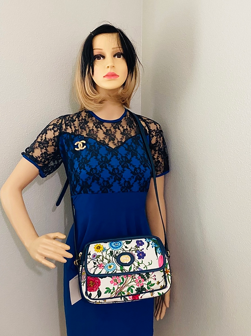 Brand New Gucci Floral Crossbody Bag