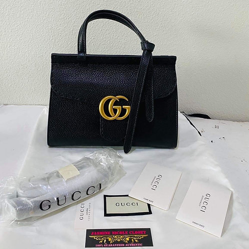 Brand New Gucci Marmont Small Top Handle