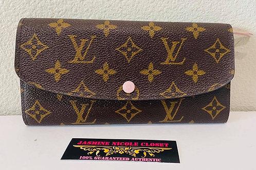 LV Emilie Pink Wallet