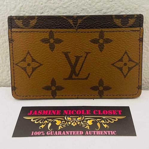 LV Card Holder Reverse