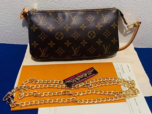 LV New Model Pochette accessories