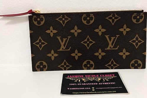 Excellent Condition Authentic LV POCHETTE Felicie Pouch Fuschia