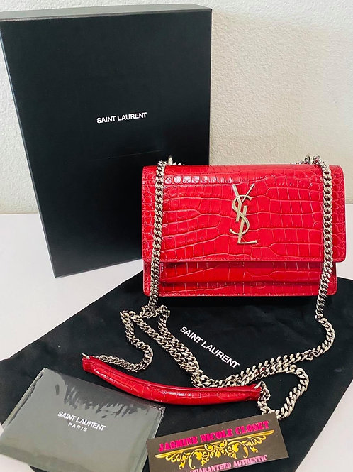 Brand New YSL Sunset Mini Crossbody Bag