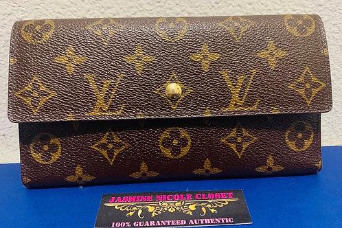 LV International Long Wallet